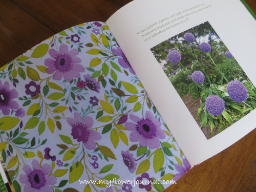 I'm inspired by Kim Parker's Flower Art and Home Book-myflowerjournal.com