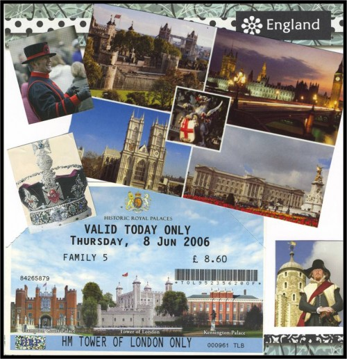 Travel Collage Journal Ideas-London-myflowejournal.com