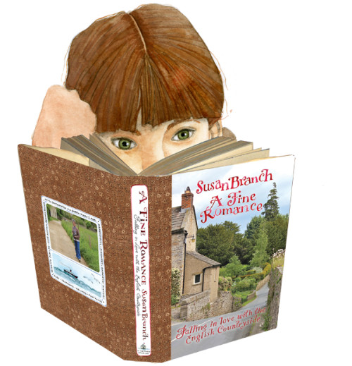 A FINE ROMANCE: Falling in Love with The English Countryside by Susan Branch-I LOVED this book!-myflowerjournal.com (Image courtesy of Susan Branch.com)