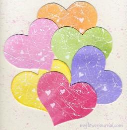 Valentine Pastel Splattered Hearts-myflowerjournal.com