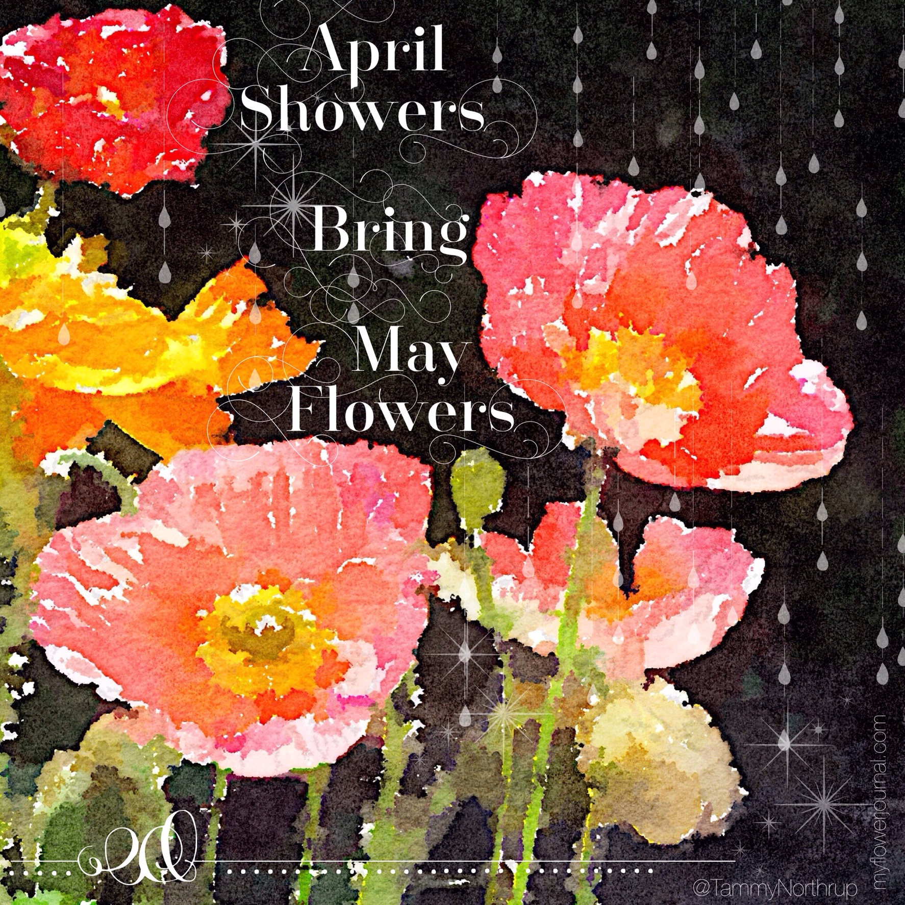 Inspirational quotes on beautiful backgrounds my flower journal izmirmasajfo Image collections