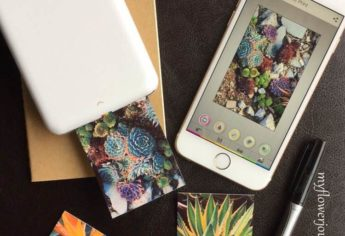 The Polaroid Zip Mobile Printer for On The Go Projects