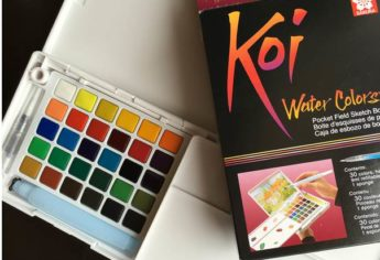 The New Koi Watercolor Pocket Set