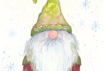 Paint A Watercolor Gnome In A Few Easy Steps
