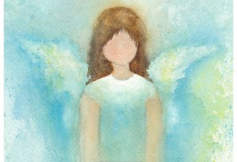 Angel in Watercolor