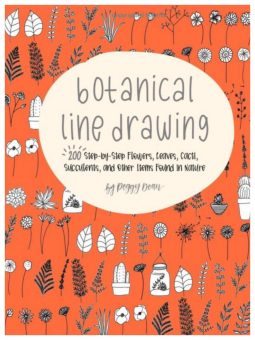 Need help drawing cactus and flowers? I really like this book from Peggy Dean: Botanical Line Drawing. myflowerjournal.com